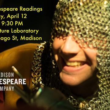 Drop-In Shakespeare Readings return!