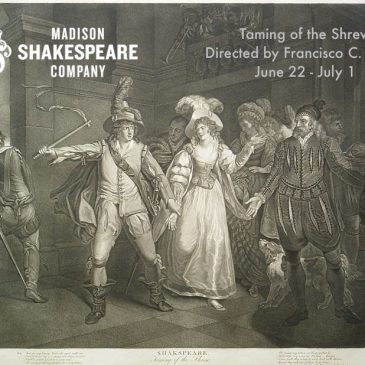 Auditions for Taming of the Shrew, April 2-3
