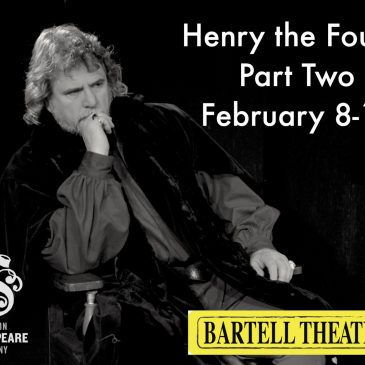 A Backstage look at Henry the Fourth Part Two