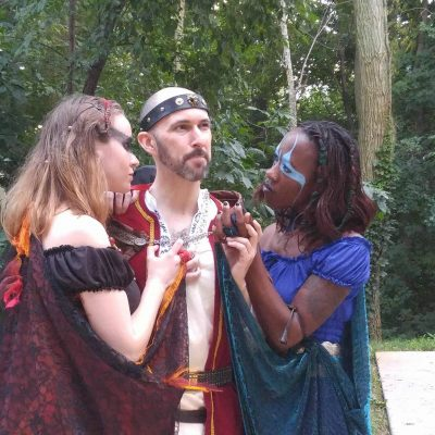 The witches further ensnare Macbeth