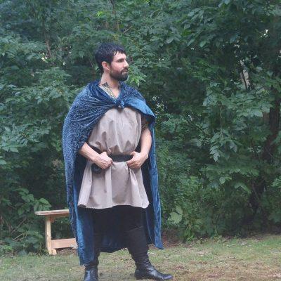 Macduff, always manfully ready