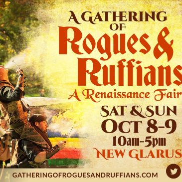 Madison Shakespeare at A Gathering of Rogues and Ruffians, October 8