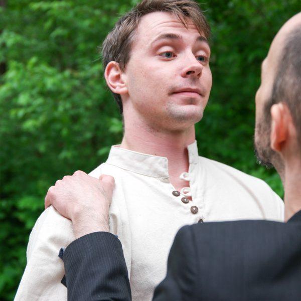 Orlando (Brian McGowan) faces an unusual ally.