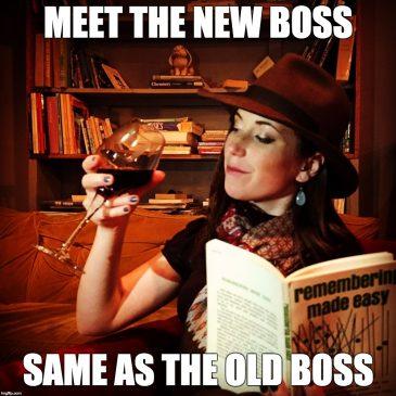 Meet the new boss…