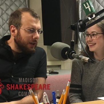 Leir, Antony and Cleopatra on WORT-FM Radio Literature